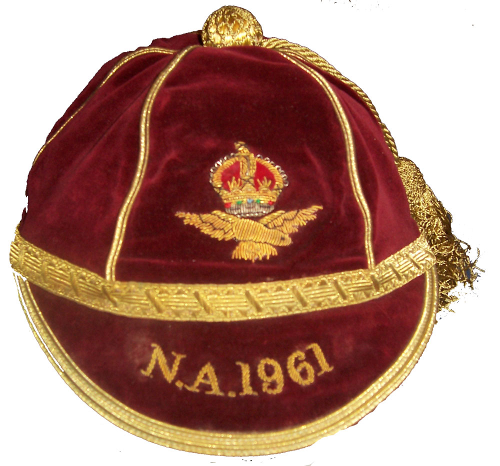 Royal Air Force RAF Rugby Cap 1961