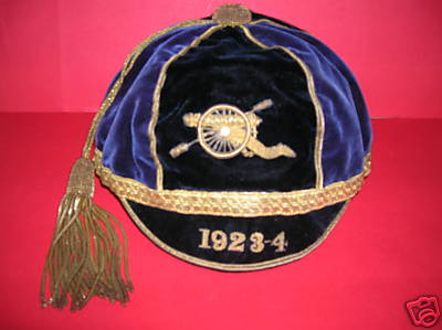Army Rugby Cap 1923-4