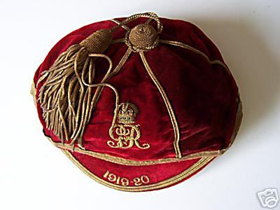 ER Royal Engineers Cap 1919-20