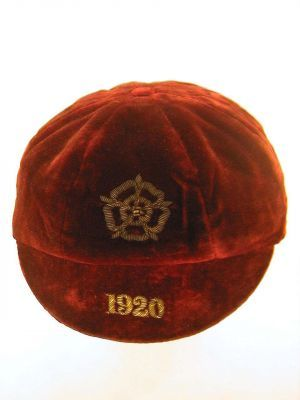 Classic England International Football Cap 1920