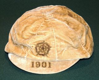England football cap v Ireland 1901