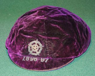 England football cap v Scotland 1896