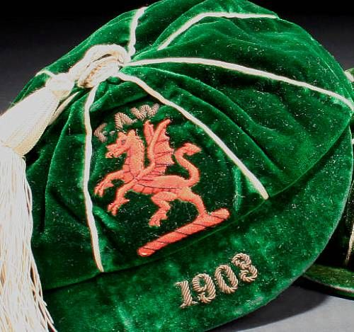 Classic Wales International Football Cap 1903