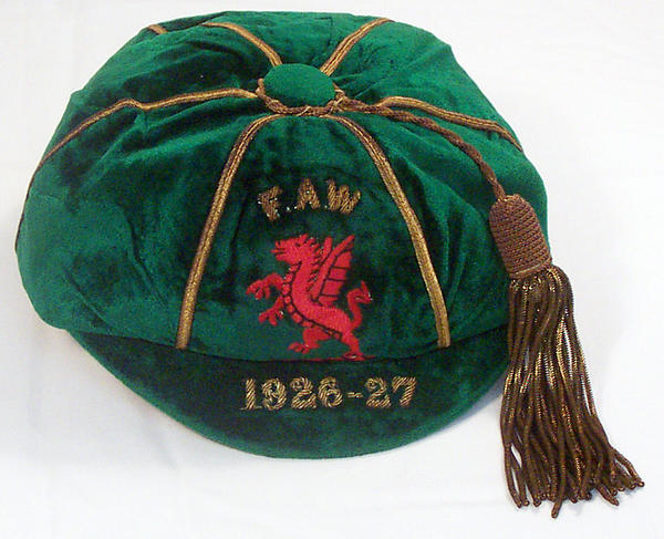 Classic Wales International Football Cap 1926-27