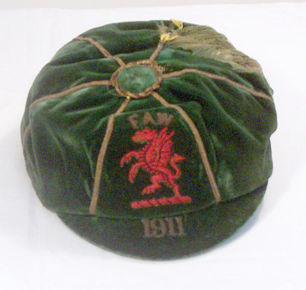 Classic Wales International Football Cap 1911