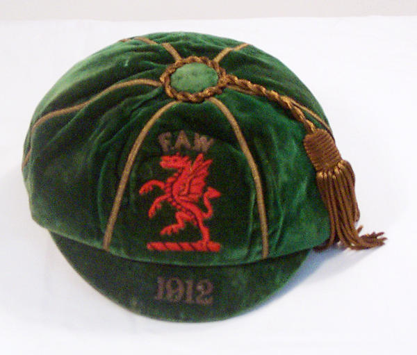 Classic Wales International Football Cap 1912