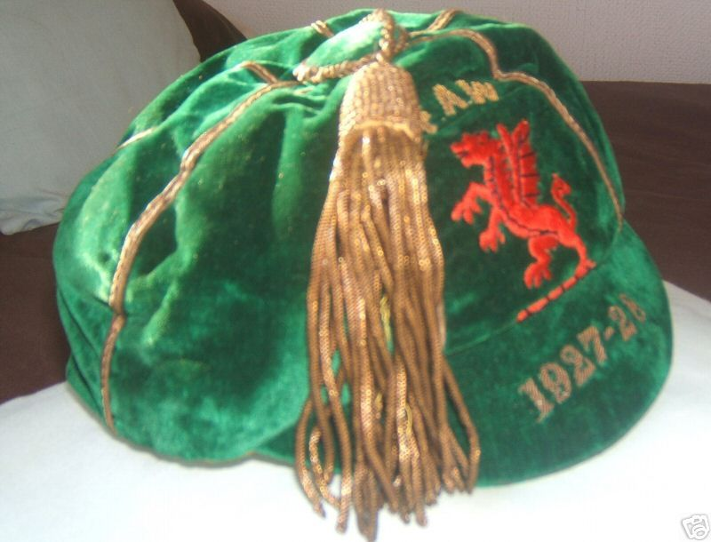 Classic Wales International Football Cap 1927-28