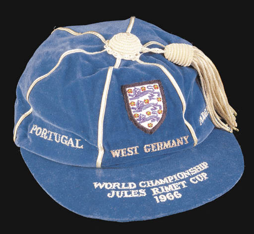 Gordon Banks' England International Football Cap 1966 World Cup