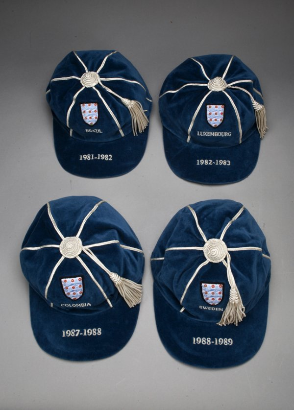 England International Football Caps