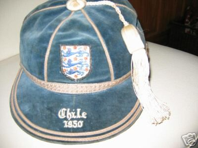 Jimmy Mullen's England International Football Cap v Chile 1950
