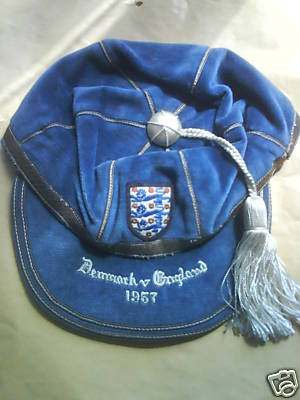 England International Football Cap