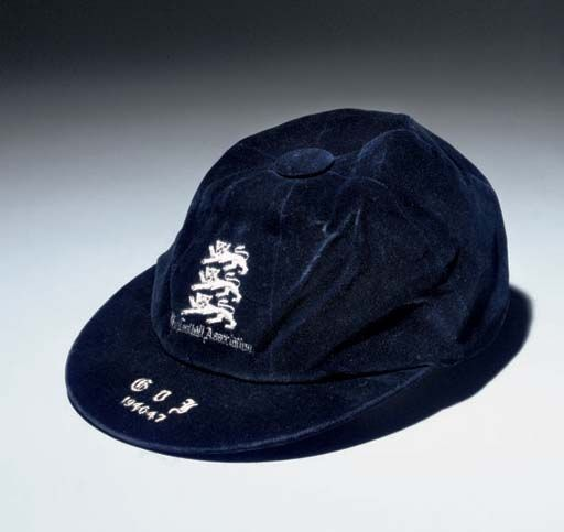Laurie Scott's England International Football Cap v Italy 1946-47
