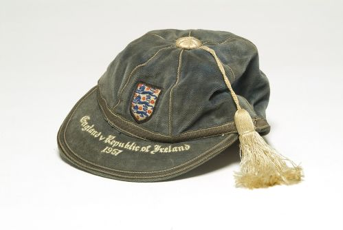 England International Football Cap v Republic of Ireland 1957