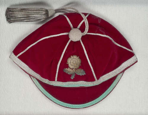 Tony Bond's England Rugby Union cap 1978