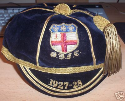 Old Blues Rugby Football Club Cap 1927-28