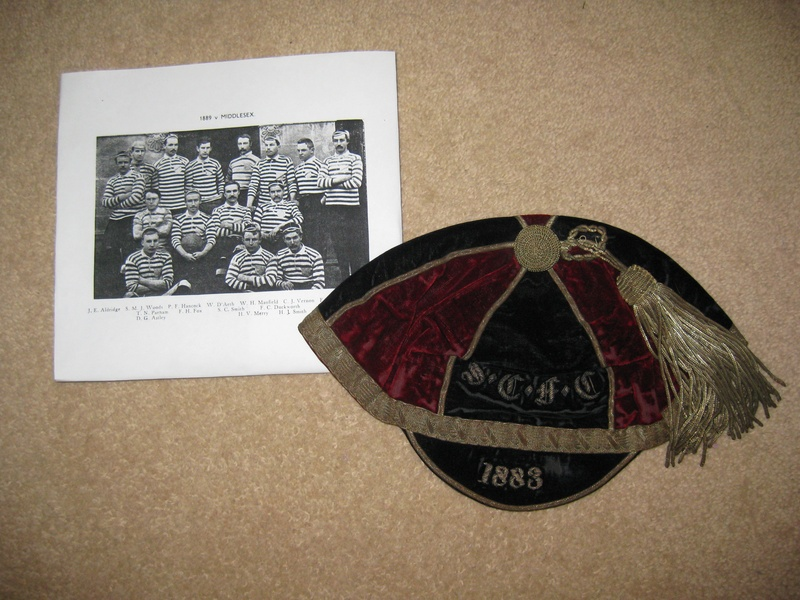 Somerset County Rugby Cap