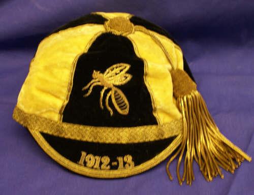 Wasps Rugby Club Cap 1912-13