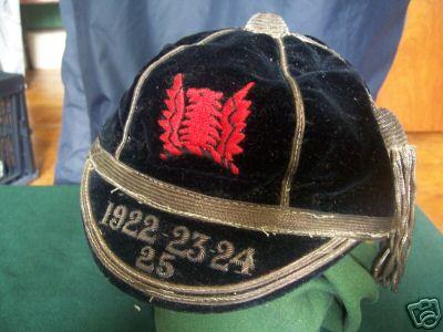 Epson College FC Cap 1922-1925
