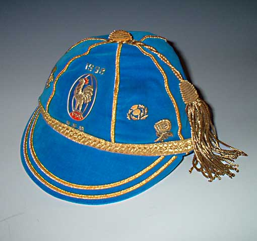 France Rugby Cap 1996 season