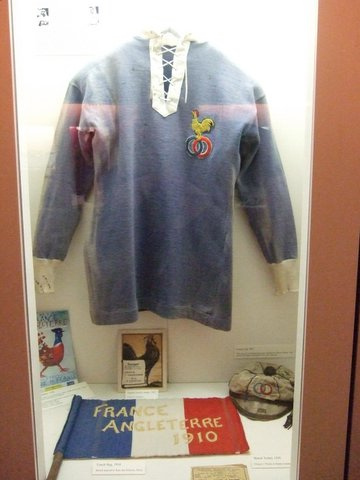 Marcel Communeau's French Rugby Jersey & Cap 1910