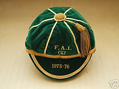 Gerry Daley's Republic of Ireland Football Cap 1975-76