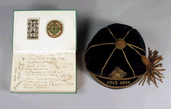 Northern Ireland Football Cap 1913-14