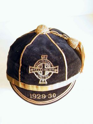 Northern Ireland Football Cap 1929-30