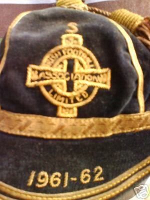 Northern Ireland Football Cap 1961-62
