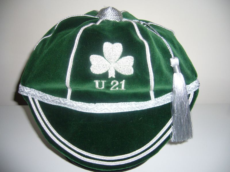 Ireland Under 21 Rugby Cap
