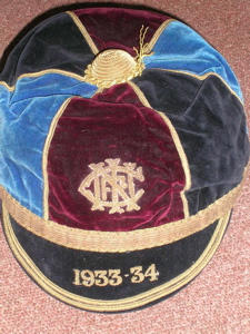 Ulster Rugby Cap 1933-34