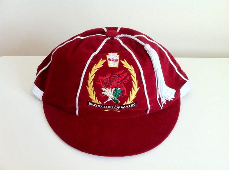 Welsh Boys Clubs honours cap