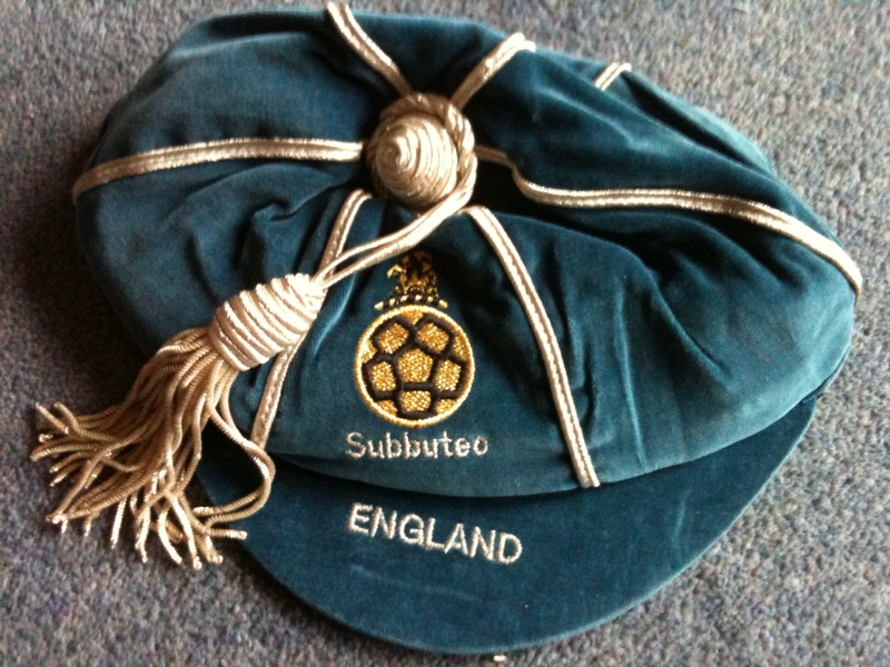 Official England Subbuteo International Cap
