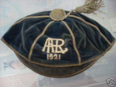 Auckland Rugby Cap 1921