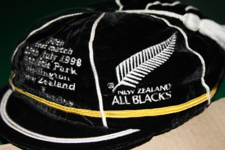 New Zealand Rugby Cap v South Africa 1998