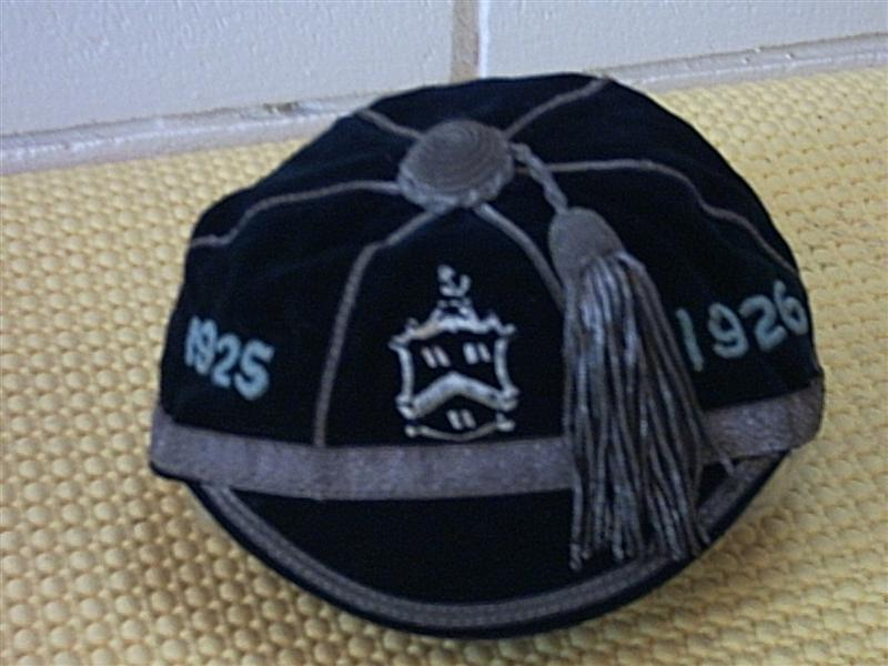 1925-1926 Cap NZ New Zealand Rugby Cap