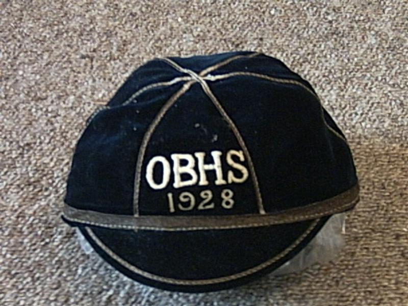 1928 Otago Boys High School Cap NZ New Zealand Rugby Cap