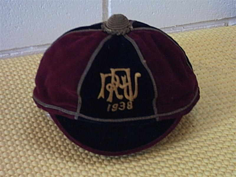 1938 Otahuhu Club Cap New Zealand Rugby Cap