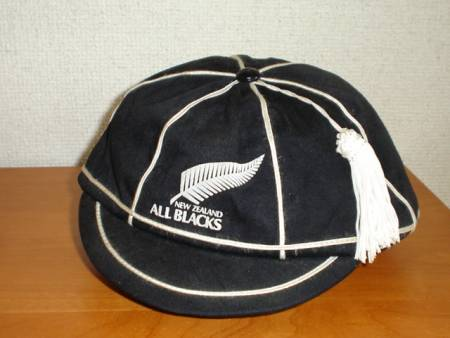 New Zealand All Blacks Rugby Cap 1990
