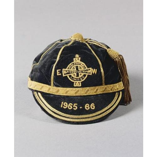 Northern Ireland International Football Cap 1965-66