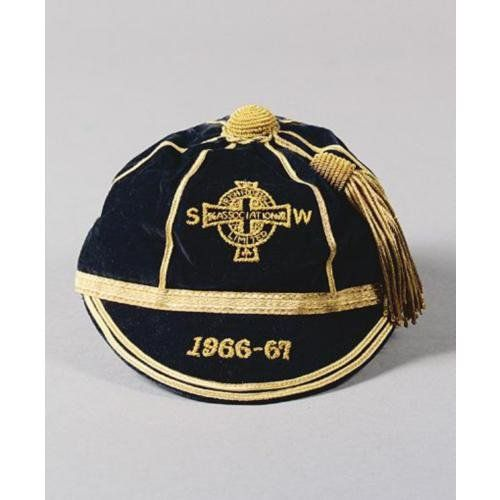 Terry Neill's Northern Ireland International Football Cap 1966-67