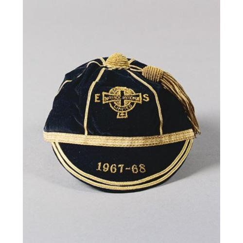 Northern Ireland International Football Cap 1967-68