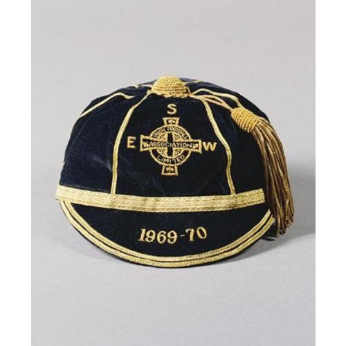 Northern Ireland International Football Cap 1969-70