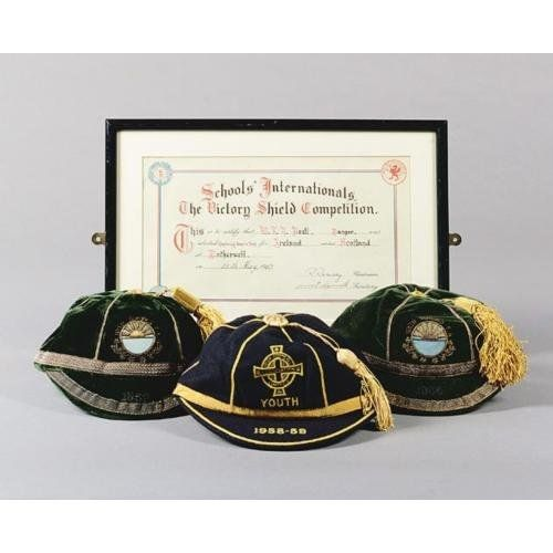 Irish Schools FA International Football Caps 1956-1959