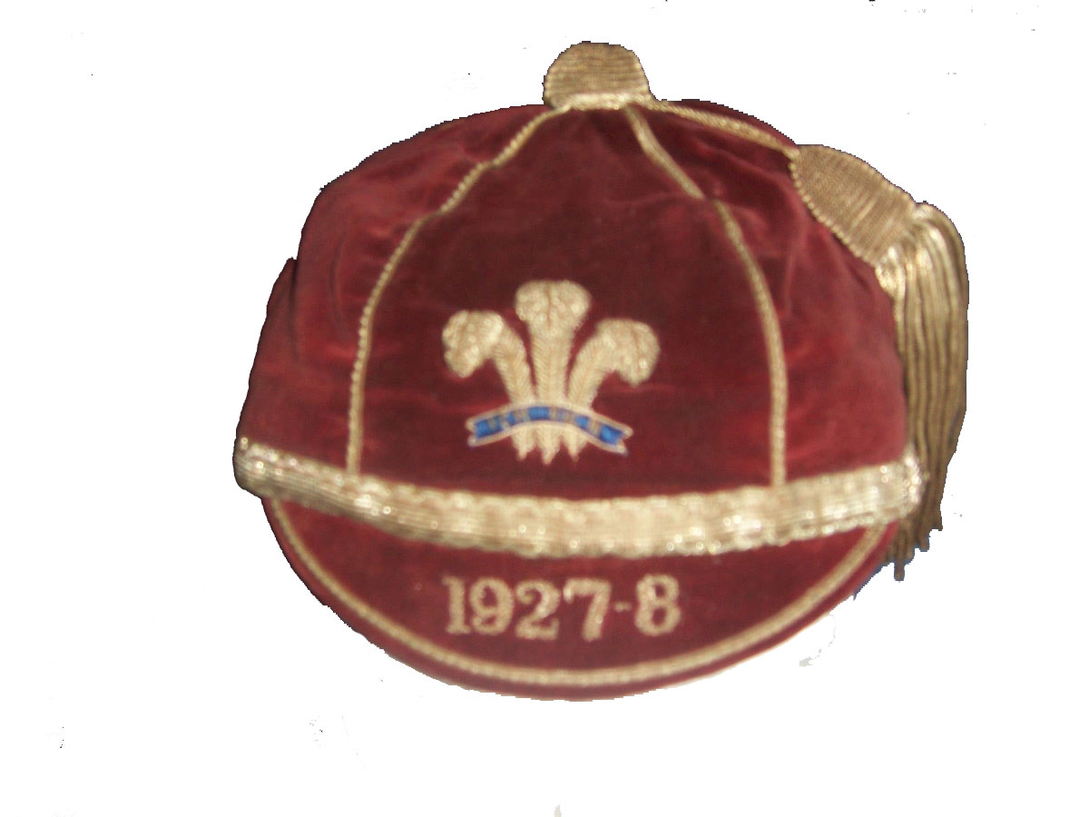Wales Rugby League Cap 1927-8