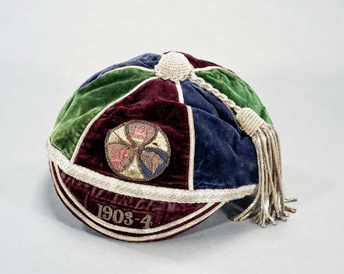 Dai Harris' Rugby League cap v England 1904