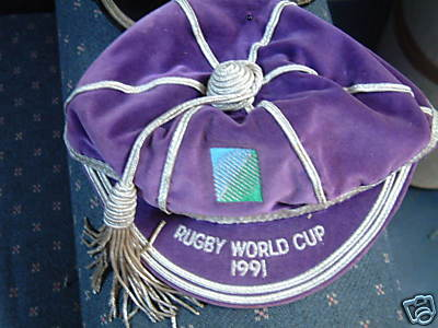 1991 Rugby World Cup Cap