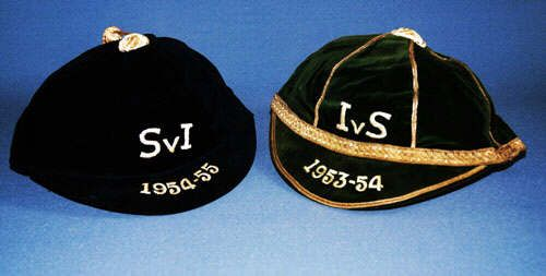 Scotland Football Caps v Ireland 1953 & 1954