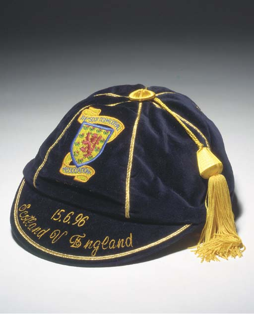 Scotland Football Cap v England 1996 (Euro 96)