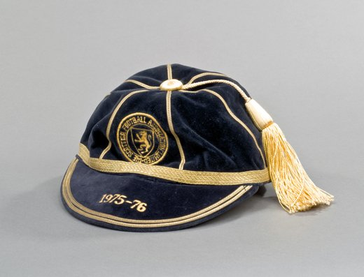 Eddie Gray's Scotland International Football Cap 1975-76