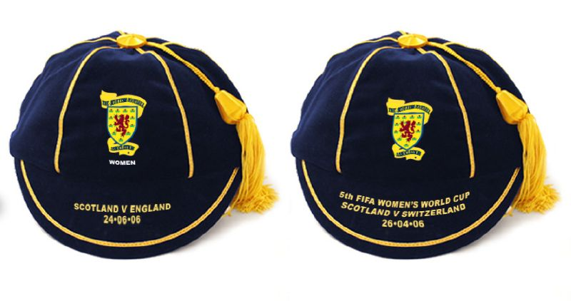 Scotland Women's International Football Caps 2006